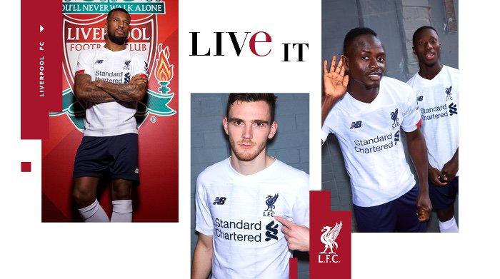 Liverpool 2020 nouveau maillot exterieur 19 20 officiel New Balance
