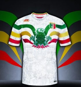 Mali 2019 maillot extérieur CAN 2019