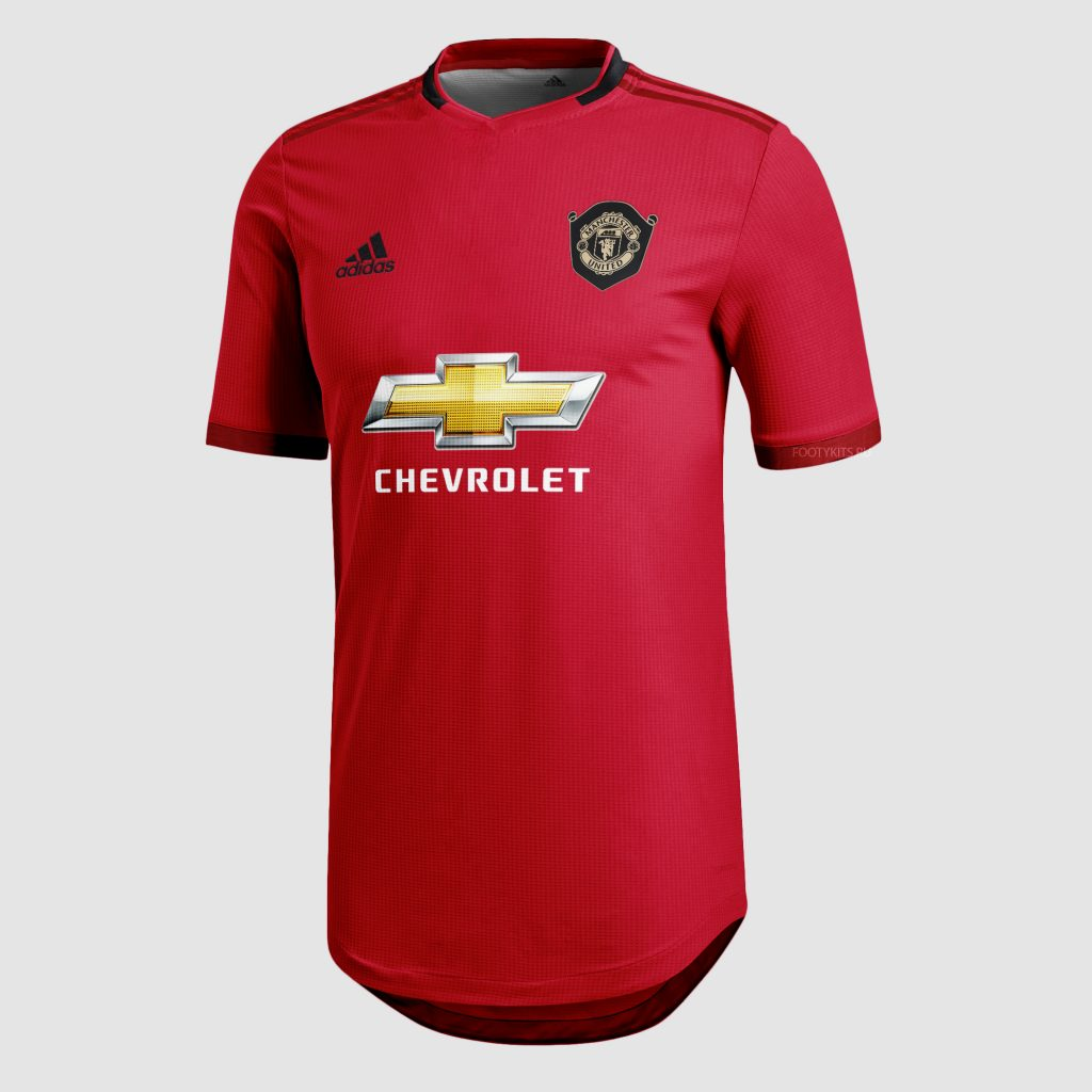 Manchester United 19 20 maillot domicile foot 2020