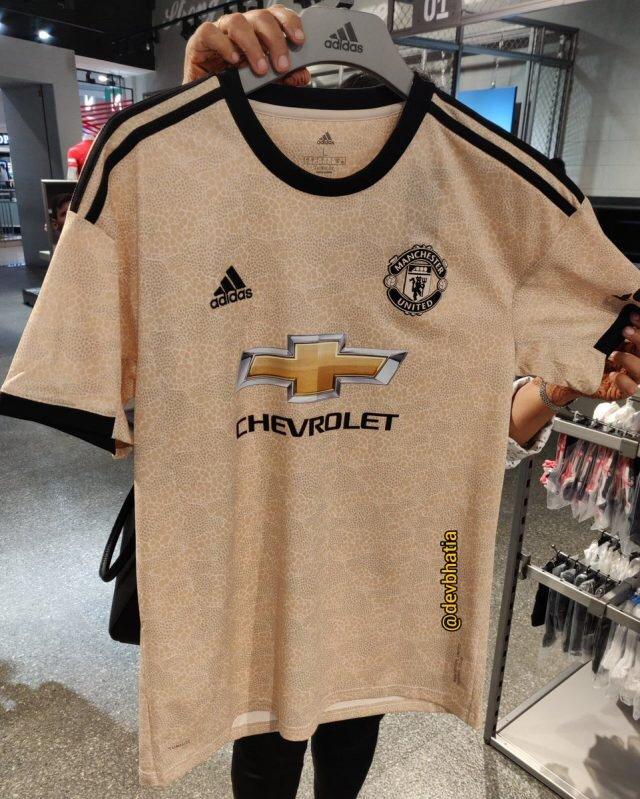 Manchester United 2020 maillot de foot extérieur 19 20 Adidas
