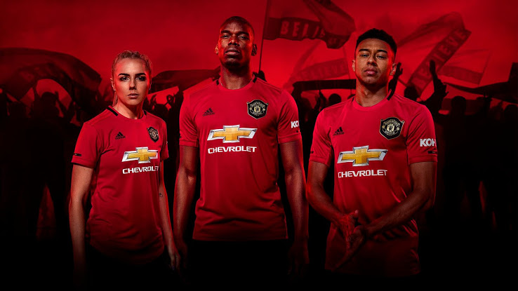 Manchester United 2020 maillot domicile foot