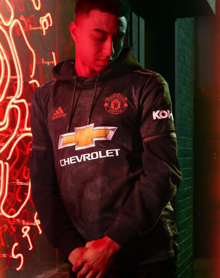 Manchester United 2020 maillot third 19 20