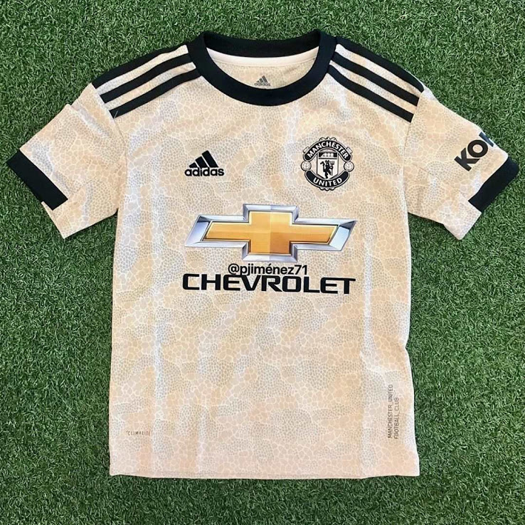 Manchester united 19 20 maillot exterieur foot
