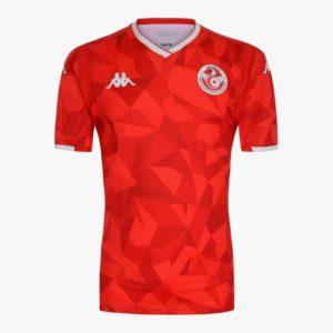 Tunisie 2019 maillot de foot domicile CAN 2019 Kappa