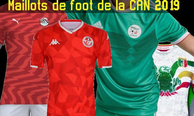 CAN 2019 tous les maillots de football de la Coupe Afrique des Nations