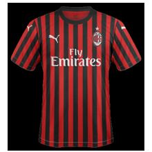 AC Milan 2020 maillot de foot domicile 19 20