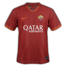 AS Rome 2020 maillot domicile foot Nike