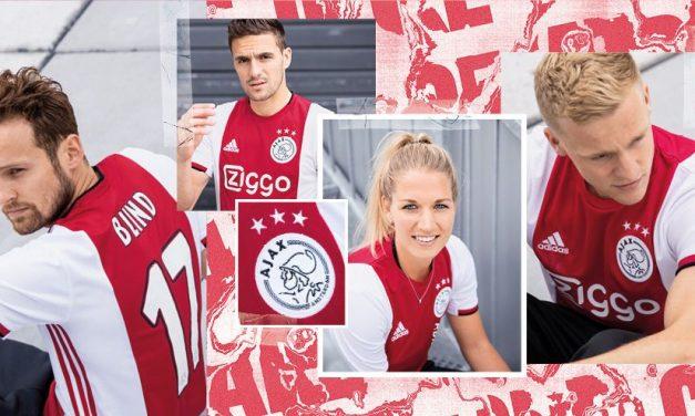 Les nouveaux maillots de foot AJAX 2020