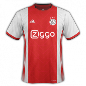 Ajax 2020 maillot domicile football