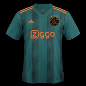 Ajax Amsterdam 2020 nouveau maillot exterieur Adidas