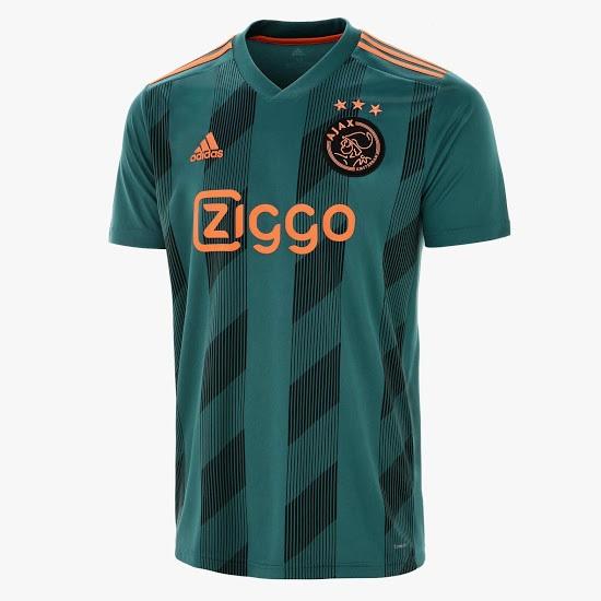 Ajax Amsterdam 2019 2020 maillot exterieur officiel