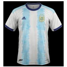 Argentine 2019 maillot de foot domicile Copa America 2019