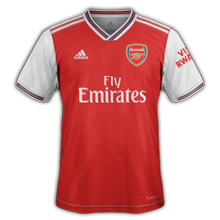 Arsenal 2020 maillot domicile foot 19 20
