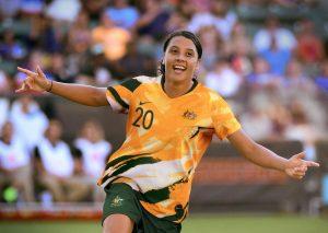 Australie 2019 maillot domicile femme coupe du monde 2019 féminine.jpg