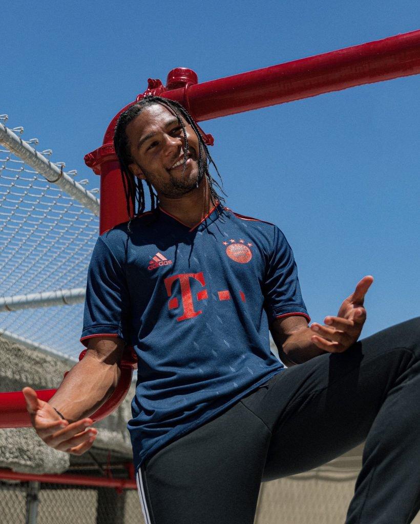 Bayern 2020 maillot third foot 19 20