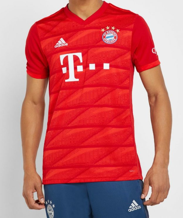 Bayern Munich 2020 maillot domicile foot