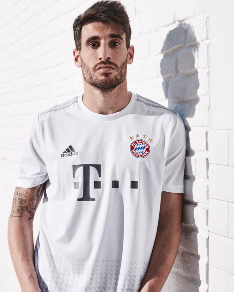 Bayern Munich 2020 maillot exterieur foot