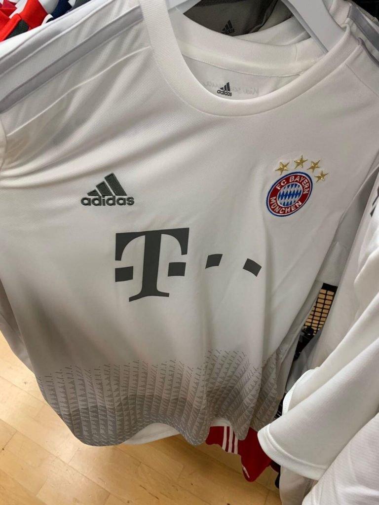 Bayern Munich 2020 maillot exterieur football