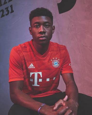 Bayern 2020 nouveau maillot de football domicile