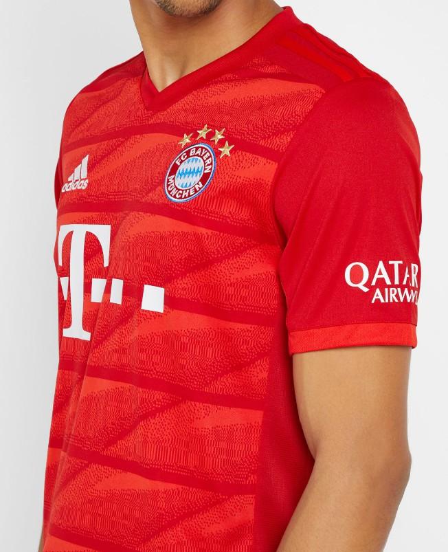 Bayern Munich 2020 nouveau maillot domicile foot 19 20
