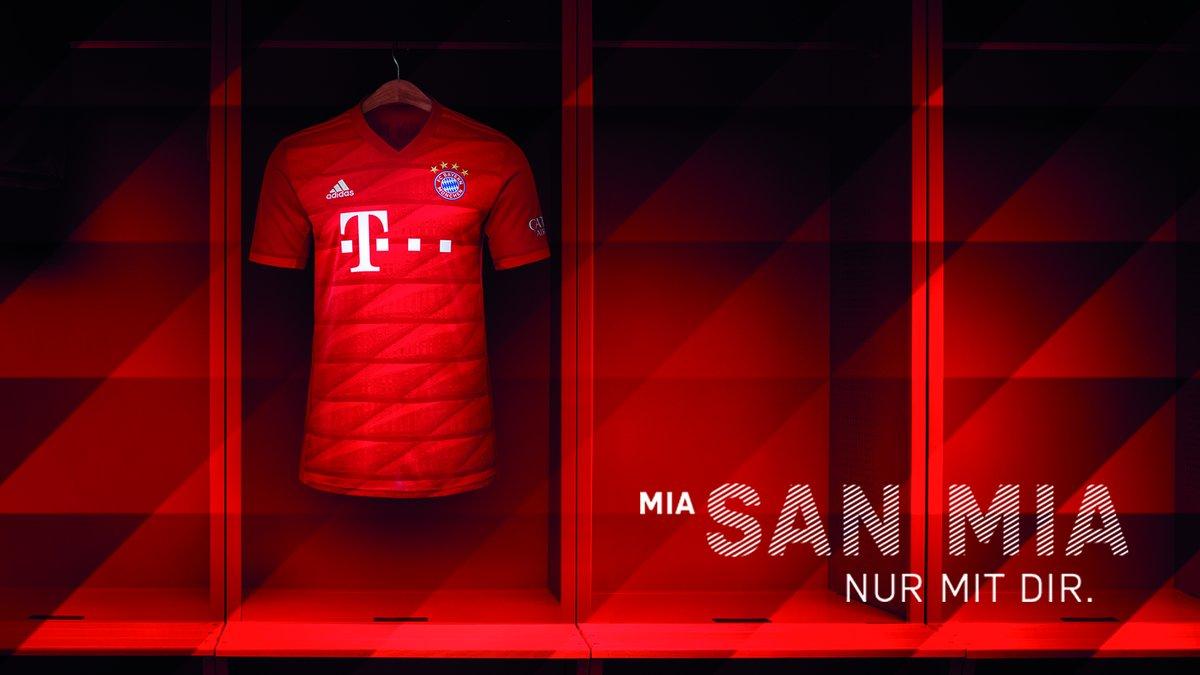 Bayern Munich 2020 nouveau maillot domicile officiel