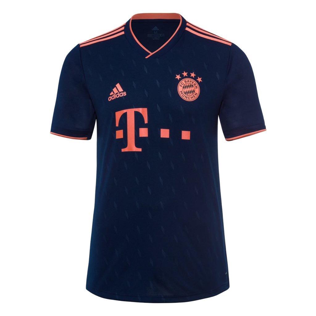 Bayern Munich 2020 nouveau troisieme maillot foot officiel
