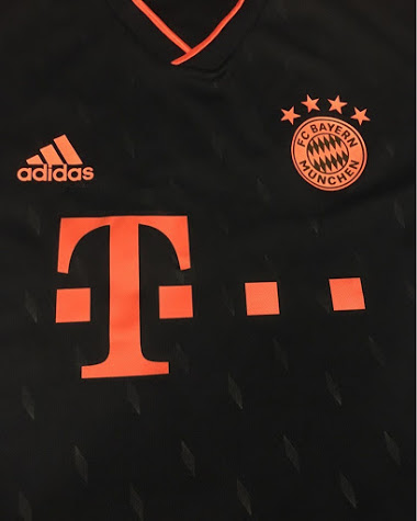 Bayern Munich 2020 troisieme maillot foot 19 20