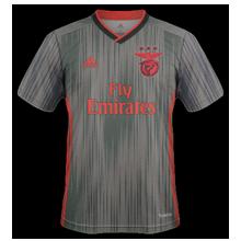 Benfica 2020 mailllot exterieur 2019 2020