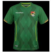 Bolivie 2019 maillot domicile Copa Ameria 2019