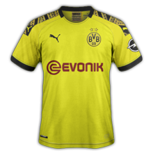 Borrussia Dortmund 2020 maillot domicile BVB