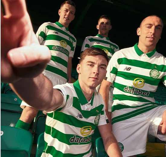 Celtic 2020 maillot domicile New Balance