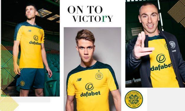 Les nouveaux maillots de foot du Celtic 2020