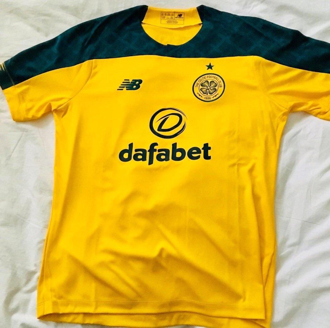 Celtic 2020 nouveau maillot exterieur 19 20