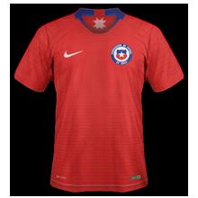 Chili 2019 maillot domicile Copa Ameria 2019