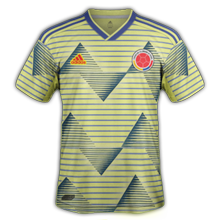 Colombie 2019 maillot domicile foot Copa Ameria 2019
