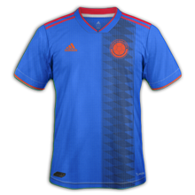 Colombie maillot exterieur foot copa america 2019