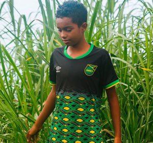 Jamaique coupe du monde feminine 2019 maillot exterieur