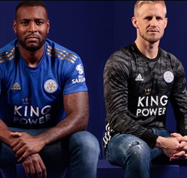 Leicester 19 20 maillot domicile foot