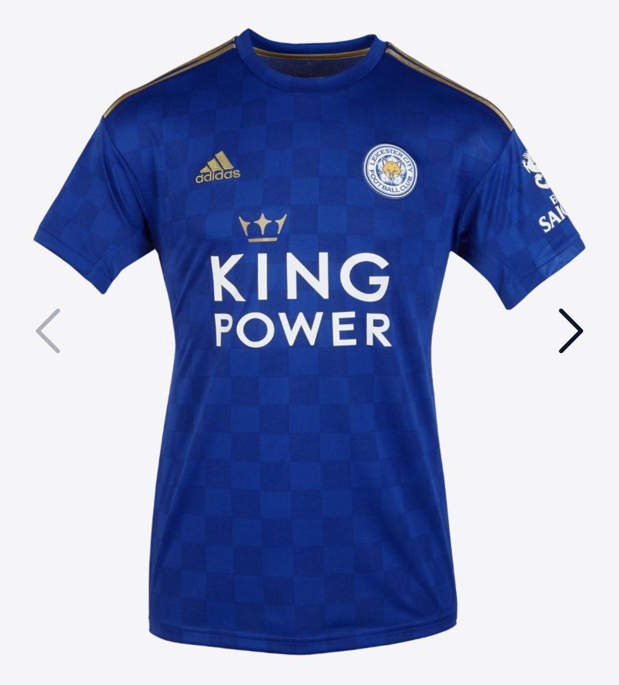 Leicester City 19 20 maillot officiel domicile