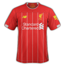 Liverpool 2020 maillot foot domicile 19 20