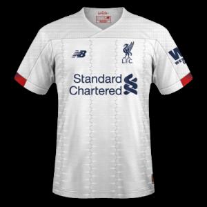Liverpool 2020 nouveau maillot exterieur 19 20