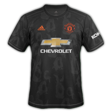 Manchester United 2020 maillot third 19 20 noir