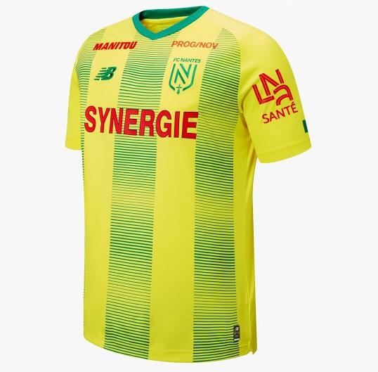 Nantes 2020 maillot domicile New Balance