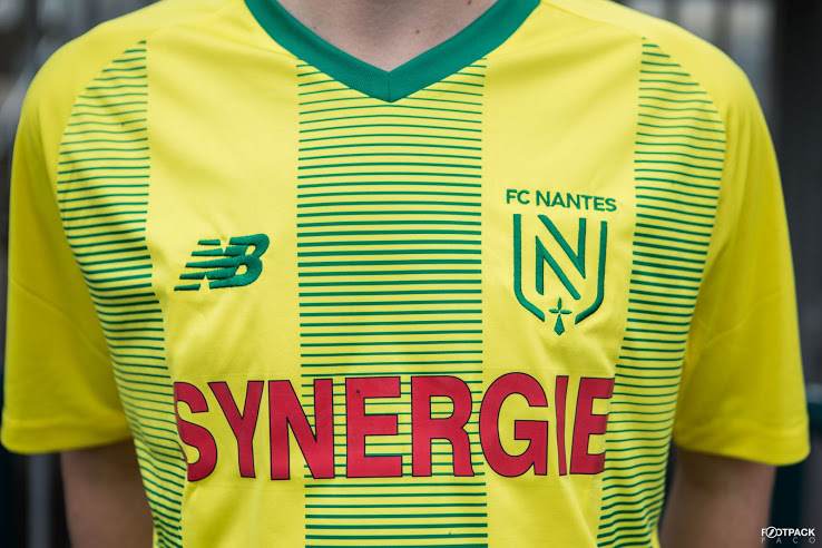 Nantes 2020 maillot domicile