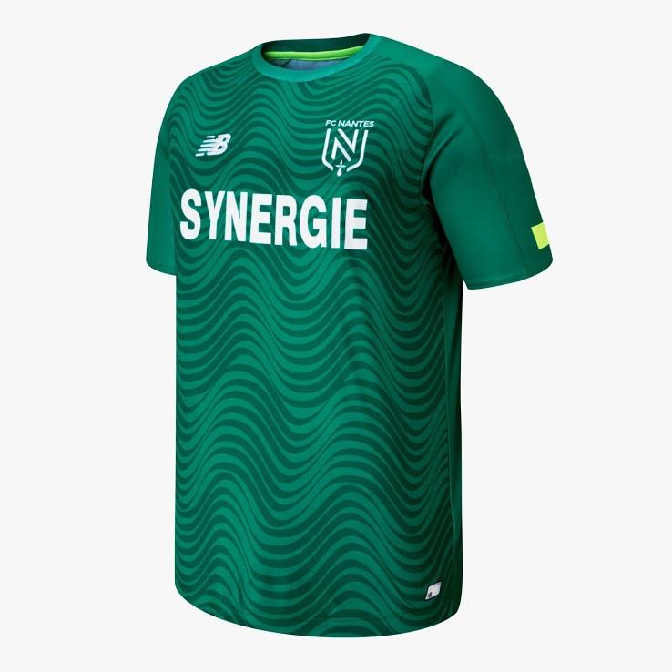Nantes 2020 maillot exterieur vert