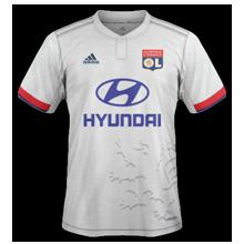 OL 2020 nouveau maillot foot domicile Olympique Lyonnais
