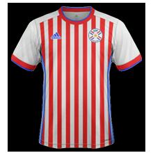 Paraguay 2019 maillot domicile football Copa Ameria 2019
