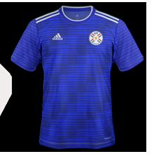 Paraguay nouveau maillot exterieur Copa America 2019