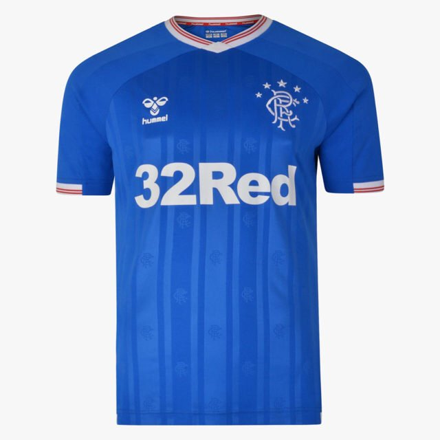 Rangers 2020 maillot domicile foot