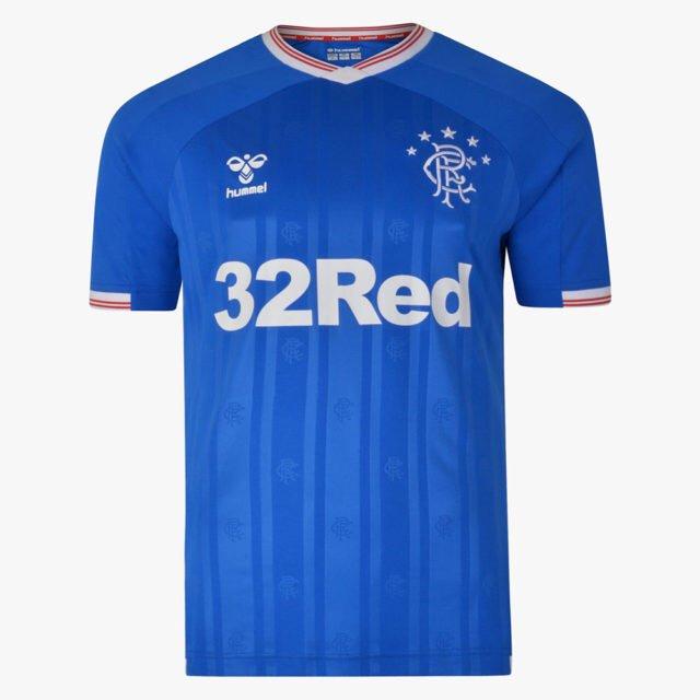 Rangers 2020 maillot domicile foot